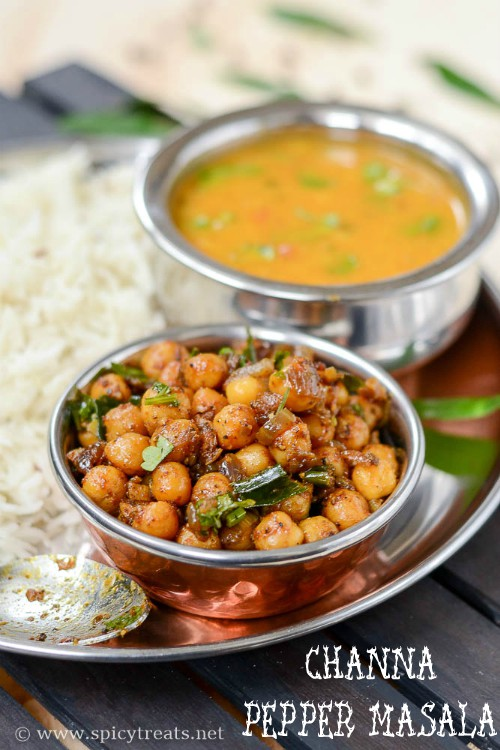 Pepper Channa Recipe