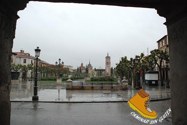 Plaza Cervantes de Alcala de Henares