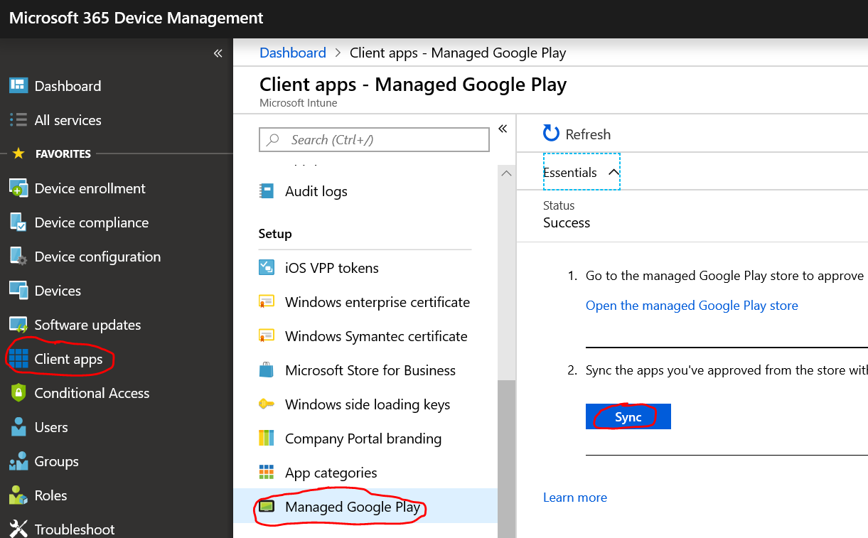 Leon's IT Blog: Intune Android Enterprise Fully Managed Devices