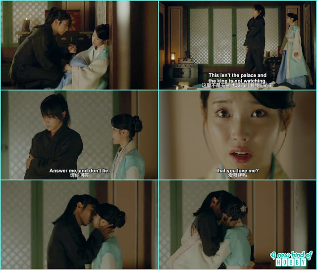 4th prince and hae soo kissed  - Moon Lovers Scarlet Heart Ryeo - Episode 16 Review (Eng Sub)
