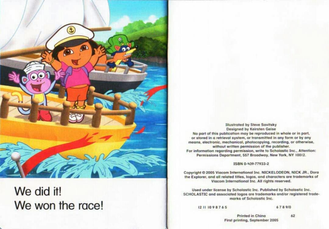 dora the explorer books phonics www