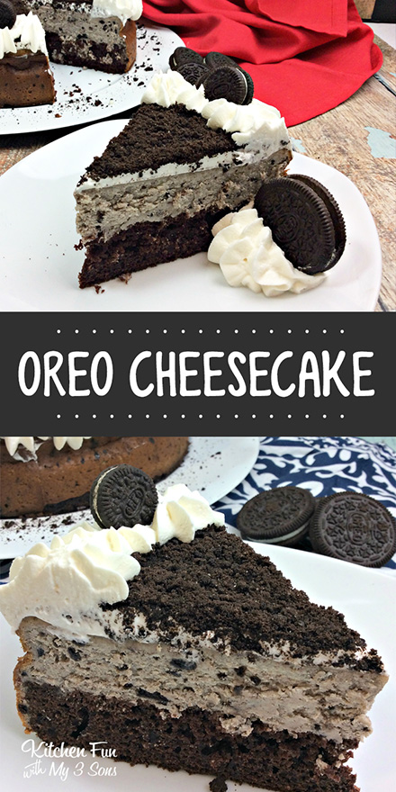 CHOCOLATE OREO CHEESECAKE
