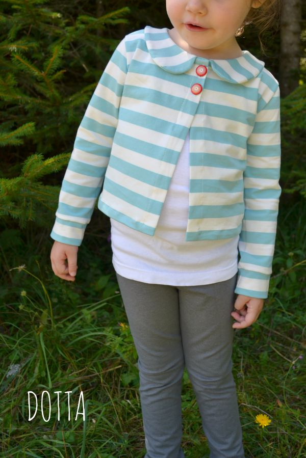 Aster Cardigan in Nosh Fabrics by Dotta