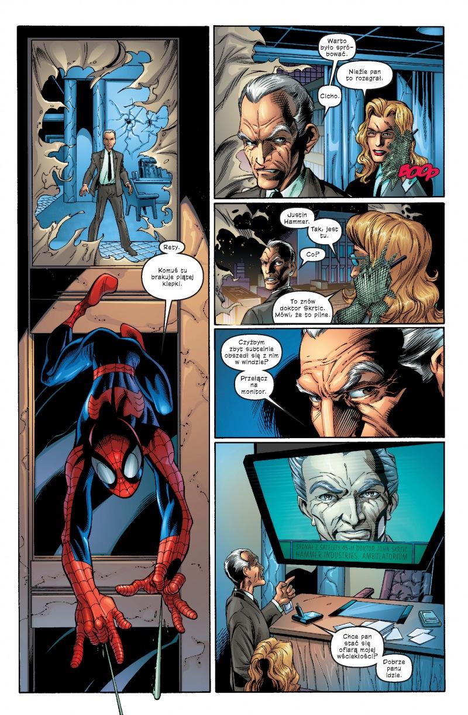 Ultimate Spider-Man tom 2 przykładowa strona