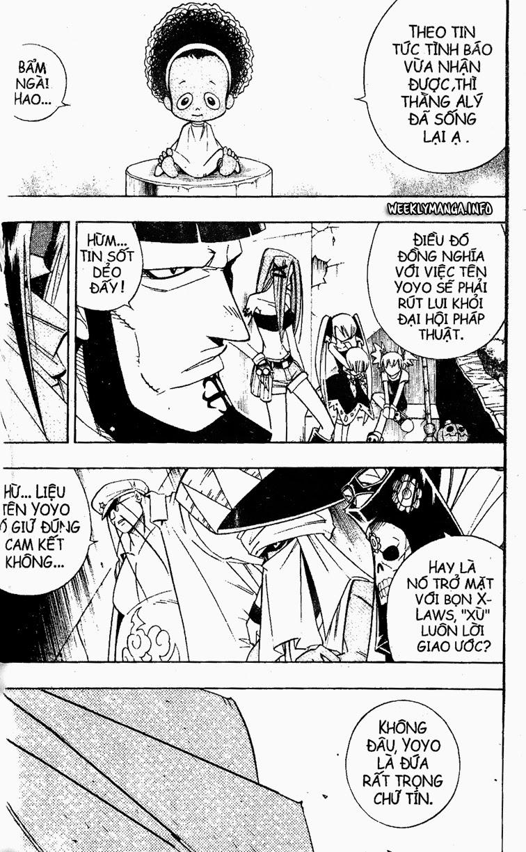 Shaman King [Vua pháp thuật] chap 183 trang 6