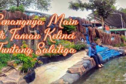 Senangnya Main di Wisata Taman Kelinci Tuntang, Salatiga