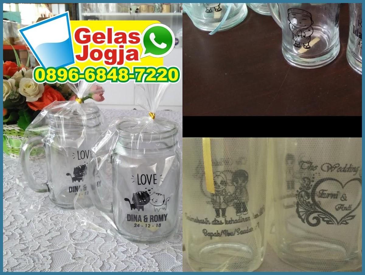 jual souvenir gelas padang