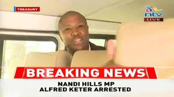 Kenyan MP arrested over fake treasury bills