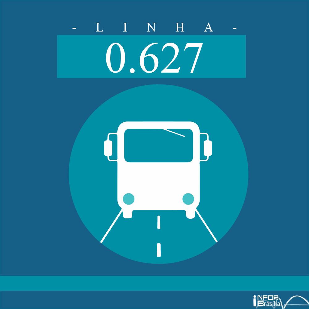 Horário de ônibus e itinerário 0.627 -