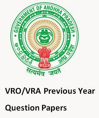 VRA/VRO Previous Question papers