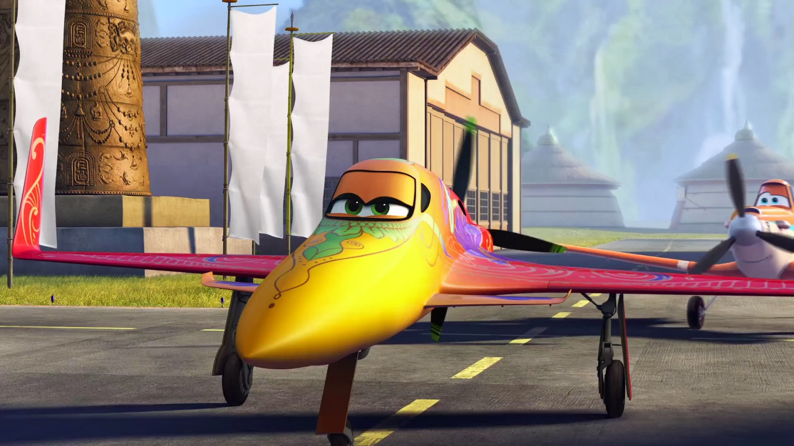 Dusty aviones