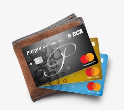 Kartu ATM BCA Chip MasterCard