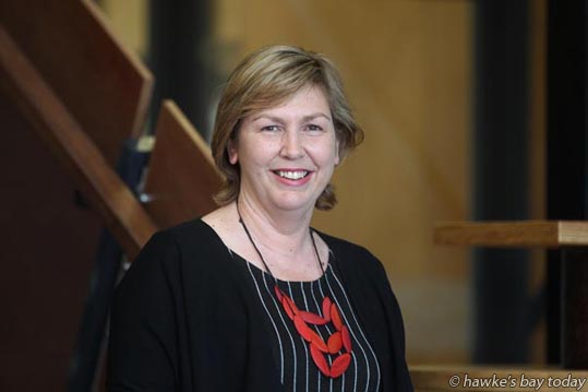 Susan White, CEO, Business Hawke's Bay, pictured at the Hawke's Bay Business Hub in Ahuriri, Napier. photograph