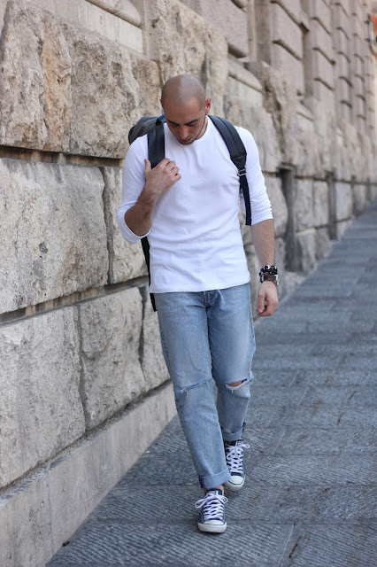 outfit uomo basic estate