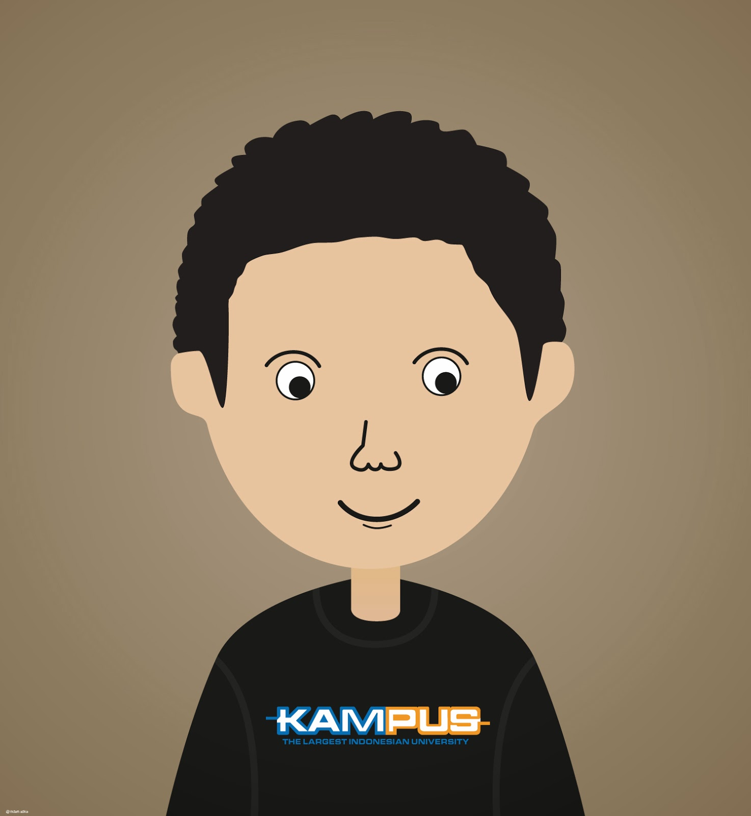 My Experiment Simple Vector With Adobe Illustrator