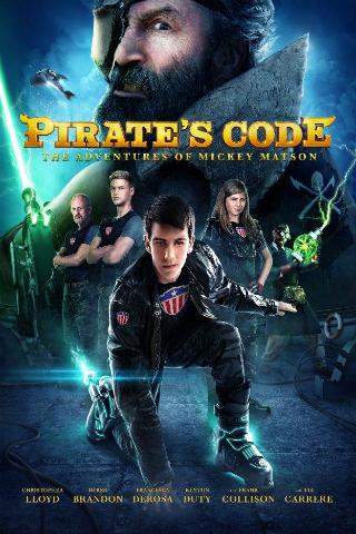 Pirate's Code: The Adventures of Mickey Matson [2014] [DVDR] [NTSC] [Subtitulado]