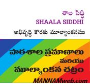 Shaala Siddhi - 2017-18 - School  Accreditation Programme complete Details -Veekshanam Shaala siddhi App