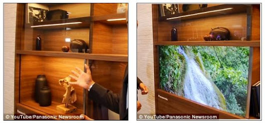 CEATEC 2016 Japan: Panasonic Showcase New Lifestyles and Businesses in IoT Era, including the Transparent HDTV.