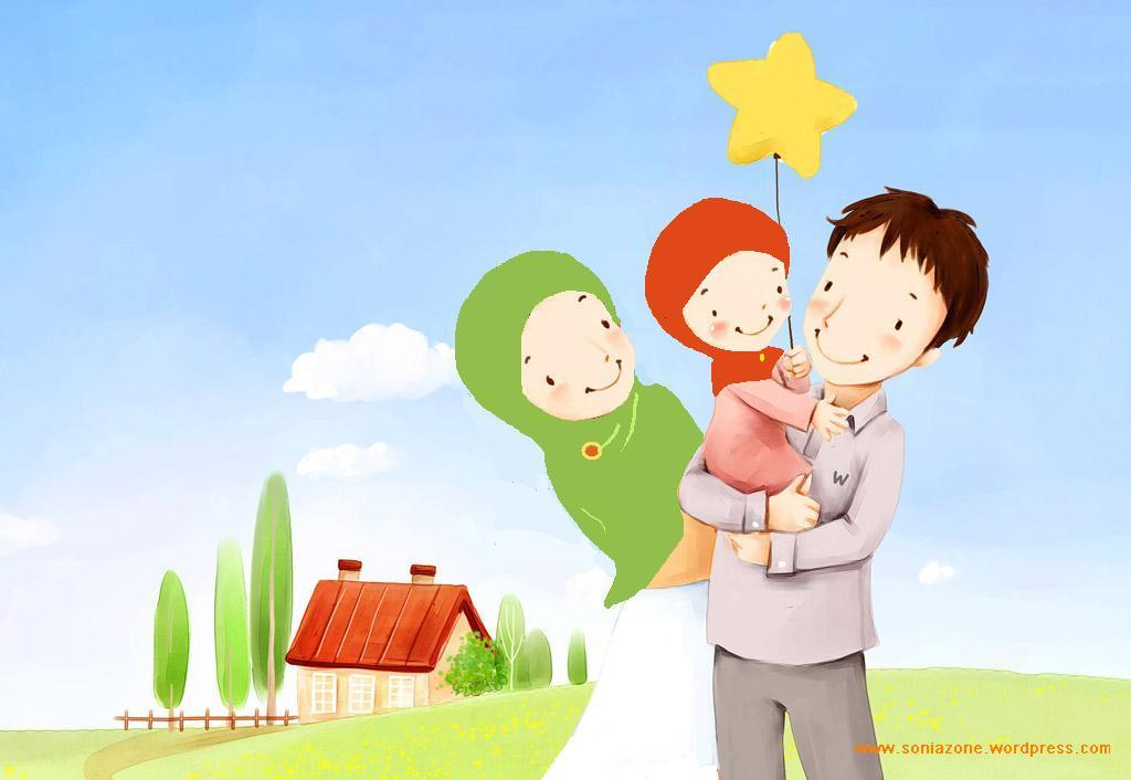 65 Gambar Kartun Pengorbanan Seorang Ayah Gratis Terbaik