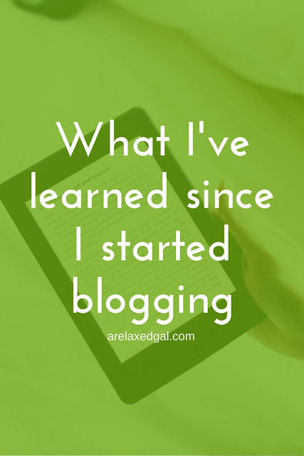I'm celebrating my two year blog anniversary and want to share with you what I've learned about blogging. | arelaxedgal.com