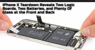 iPhone X Teardown Reveals Two Logic Boards, Two Batteries, and Plenty Of Glass at the Front and Back