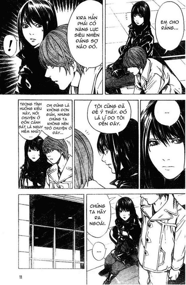 Death Note chapter 012 trang 12