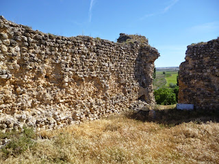 Interior del Castillo de Fuentes