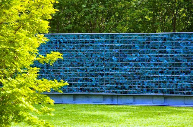 exterior garden wall paint ideas