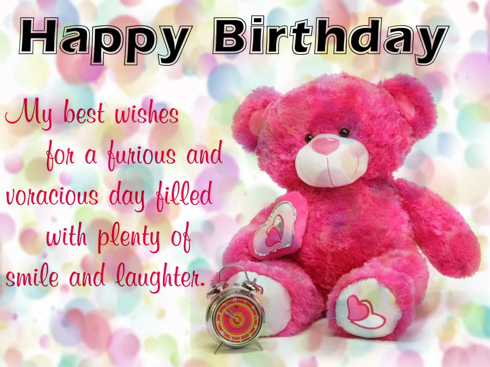Best Friend Birthday Wishes For Facebook Teddy bear birthday photos,