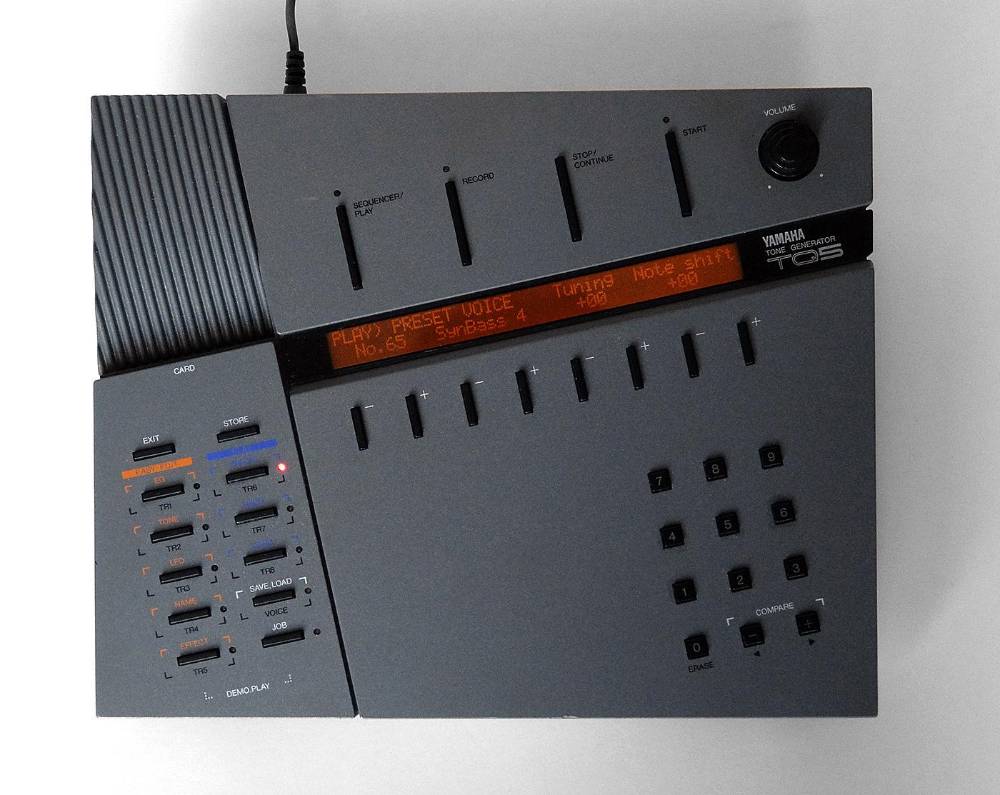 MATRIXSYNTH: YAMAHA TQ5 FM Digital Synthesizer - Classic
