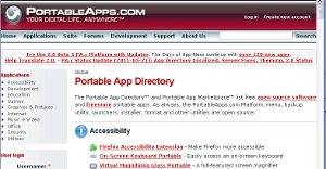 PortableApps: Installing and using Applications in Windows