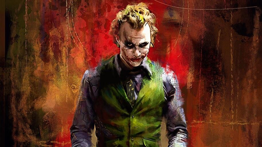 Joker, Heath Ledger, 4K, #7.94