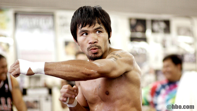 Manny Pacquiao Believes that Floyd Mayweather is Scared of Losing Undefeated Record