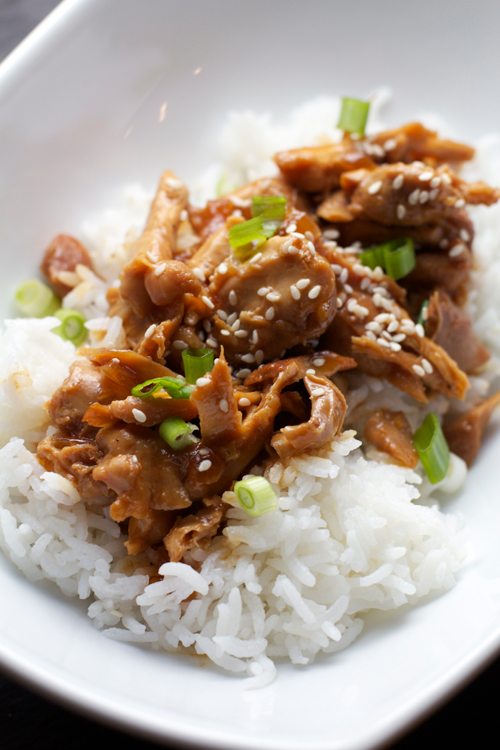 Slow Cooker Honey Soy Chicken || A Less Processed Life
