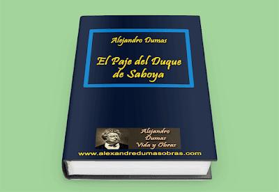 El Paje del Duque de Saboya - Alejandro Dumas
