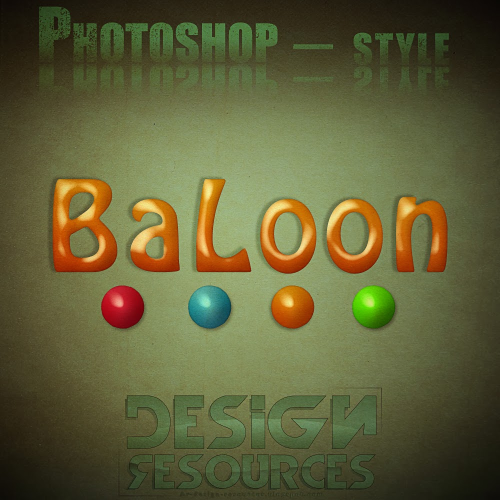 Photoshop Balloon Styles