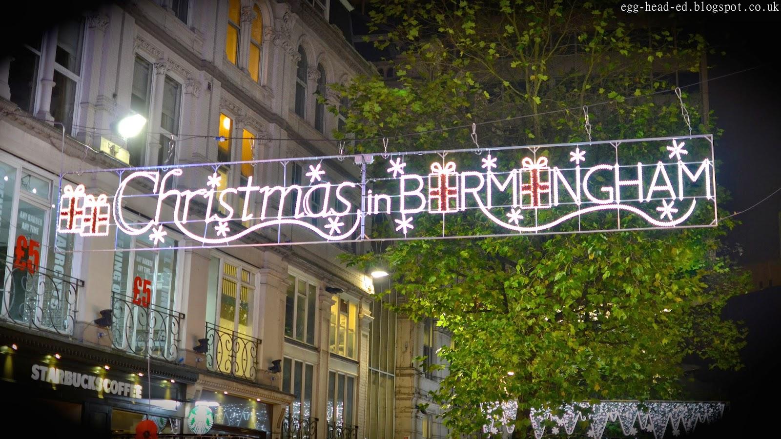 Birmingham Christmas Market Signage