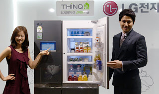 Lg smart refrigerator Thinq