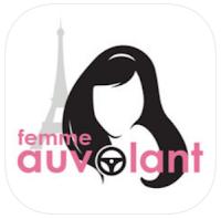 application femme taxi VTC