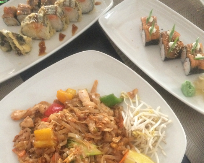 10 things to do in Budapest: Trying Sushi