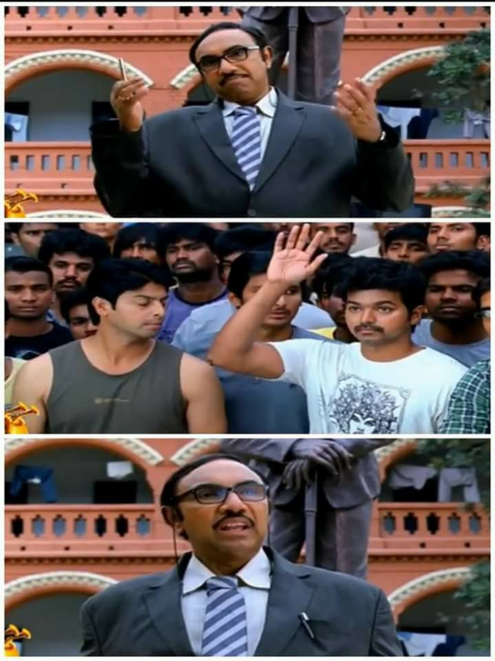 VIJAY vijay tamil movie nanban meme