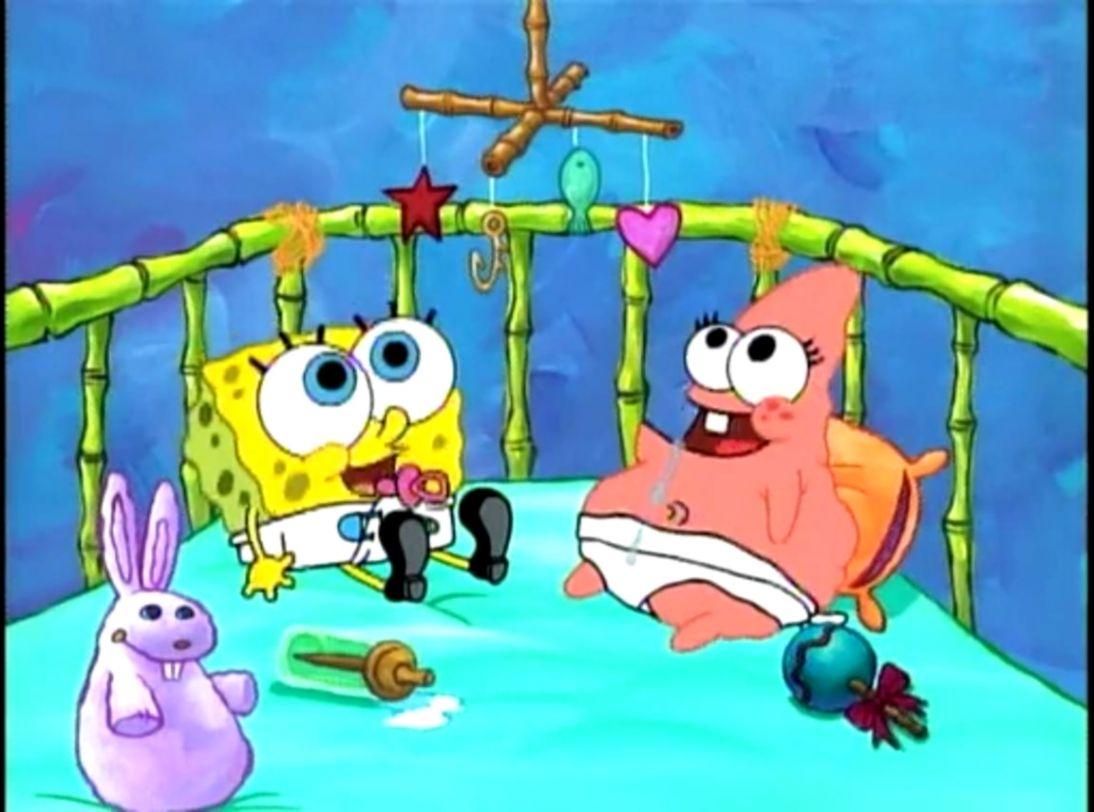Spongebob Squarepants And Patrick Star Baby Wallpaper