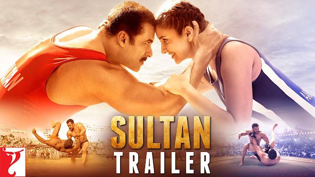 SULTAN Official Trailer Released Salman Khan, Anushka Sharma | Eid 2016
