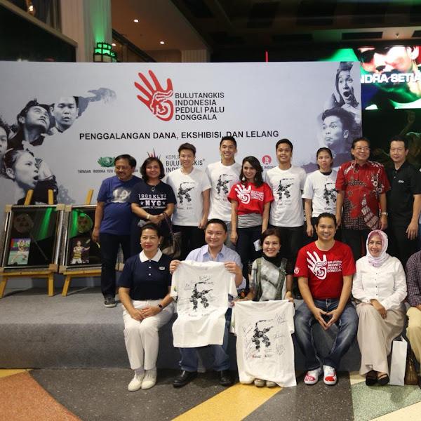 Bulutangkis Indonesia Peduli Palu Donggala