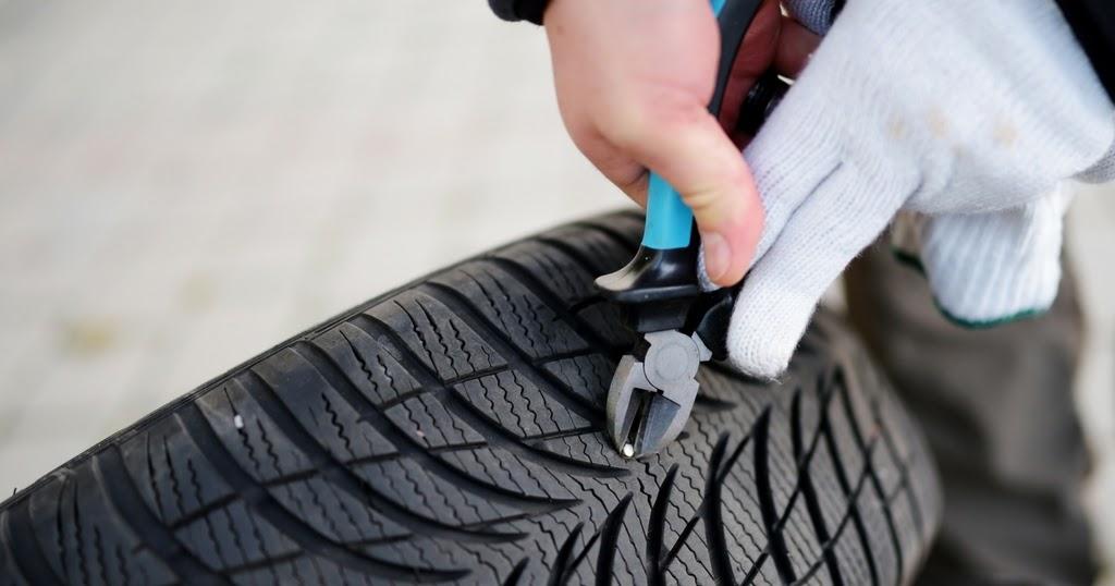 rouler avec un clou dans pneu est ce s curitaire fiche technique auto. Black Bedroom Furniture Sets. Home Design Ideas
