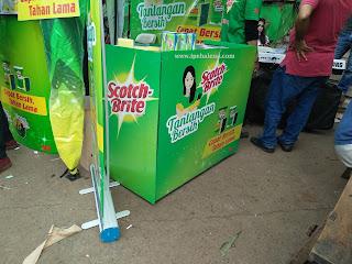 Tantangan Bersih di Pasar Bantar Gebang Bekasi