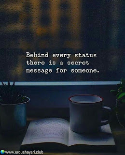 Behind Every Status  There Is A Secret  Masseage For Someone..!!  #quotes #lines