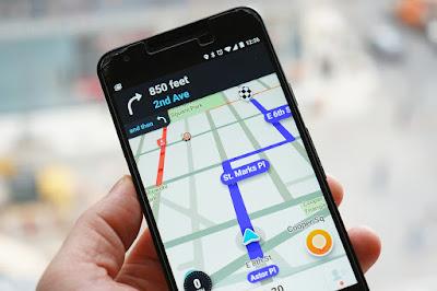 GPS Penunjuk Jalan di Android