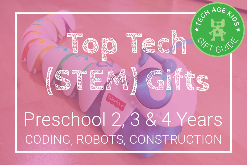 Top Tech Stem Gifts For Kids Aged 2 3 And 4 Coding Robots