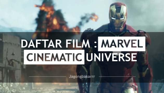 Daftar Film : Marvel Cinematic Universe